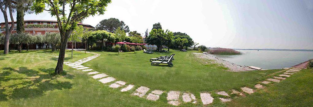 La Paul Hotel In Sirmione Near Old Town Lake Gardahotel La Paul
