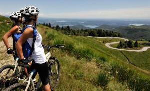 Lac de Garde en vélo