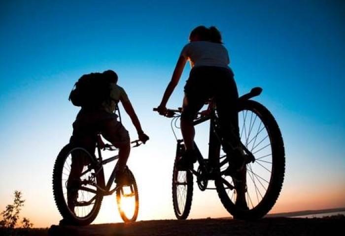 Озеро Гарда на  горном  велосипеде