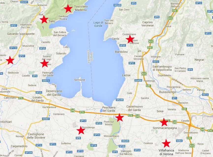 Garda Golf e to play between lake hills and mountaisHotel La Paül
